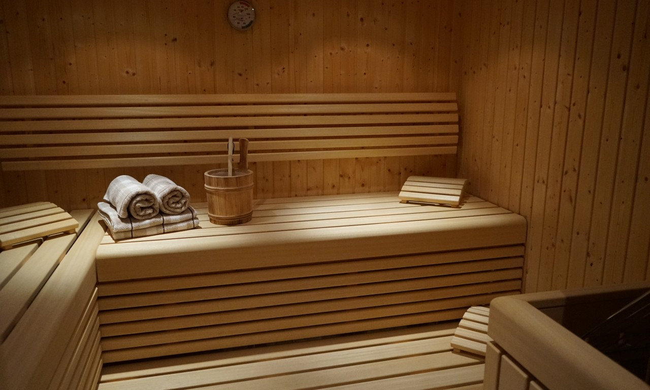 Wellness mit Sauna in Appartements Bergfink